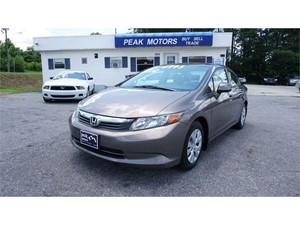 Picture of a 2012 Honda Civic LX Sedan 5-Speed AT