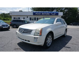 Picture of a 2004 Cadillac SRX V6