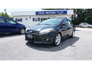2012 Ford Focus Titanium for sale by dealer