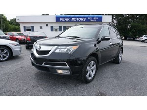 Picture of a 2012 Acura MDX 6-Spd AT w/Tech Package