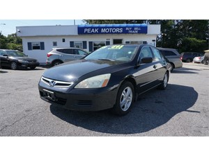 2005 Honda Accord EX V-6 Sedan AT with Navigation System and XM Radi for sale by dealer