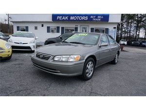 Picture of a 2001 Toyota Camry LE