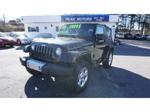 Picture of a 2008 Jeep Wrangler Sahara