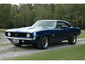 1969 Chevrolet Camaro SS for sale by dealer
