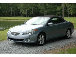 2006 Toyota Camry Solara SE Convertible for sale by dealer