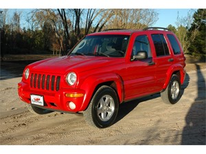2004 Jeep Liberty Limited 4WD for sale in Greenville