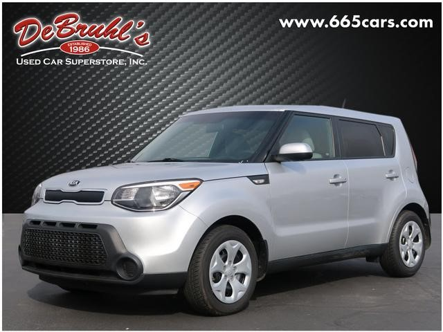 A used 2014 Kia Soul Base Asheville NC