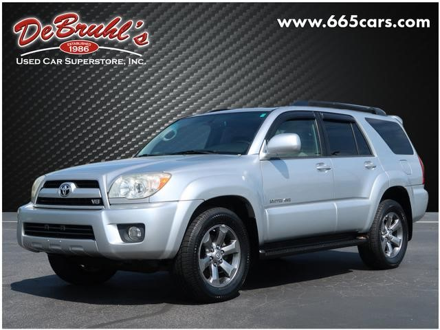 A used 2008 Toyota 4Runner Limited Asheville NC