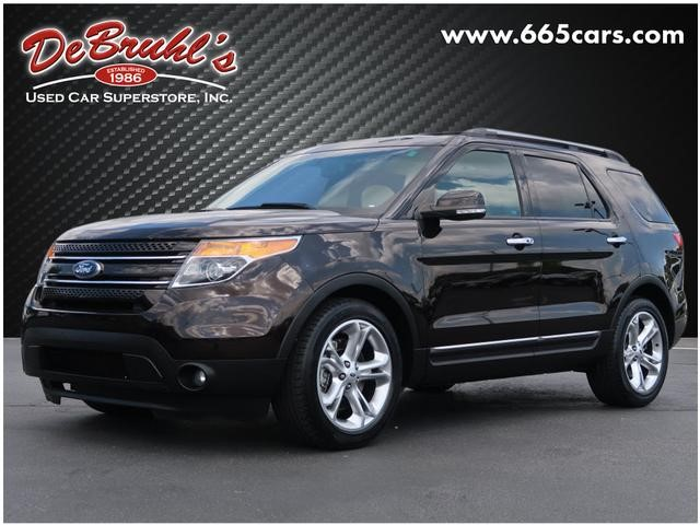A used 2013 Ford Explorer Limited Asheville NC
