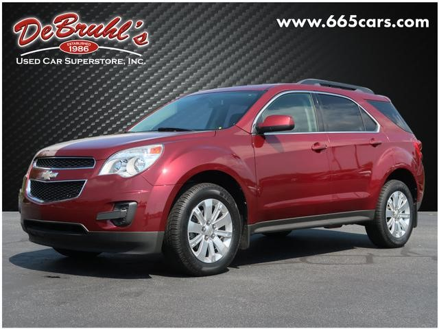 A used 2010 Chevrolet Equinox LT Asheville NC