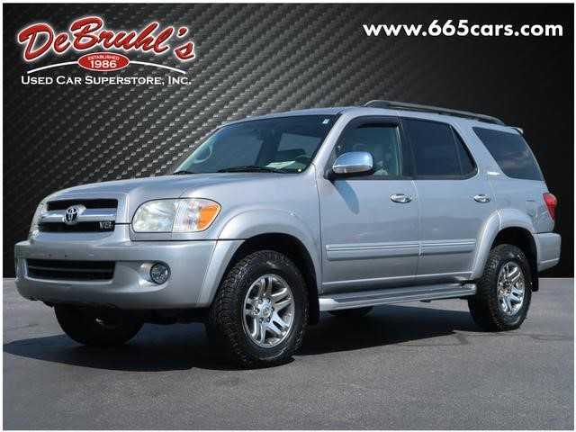 A used 2007 Toyota Sequoia Limited Asheville NC