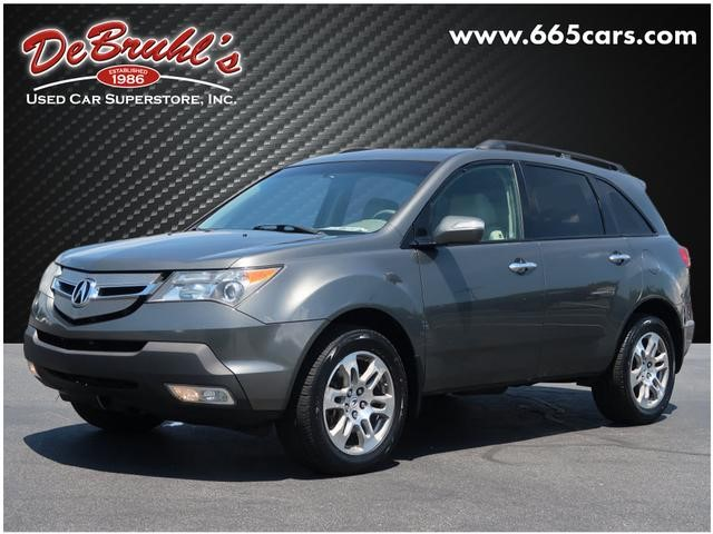 A used 2007 Acura MDX SH-AWD Asheville NC