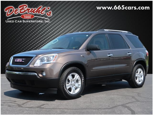 Picture of a used 2012 GMC Acadia SLE