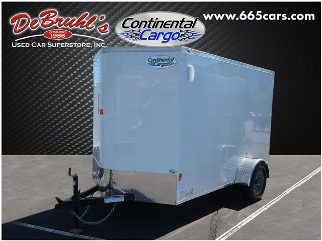 Picture of a used 2020 Continental Cargo 6X10 SA Cargo Trailer (New)