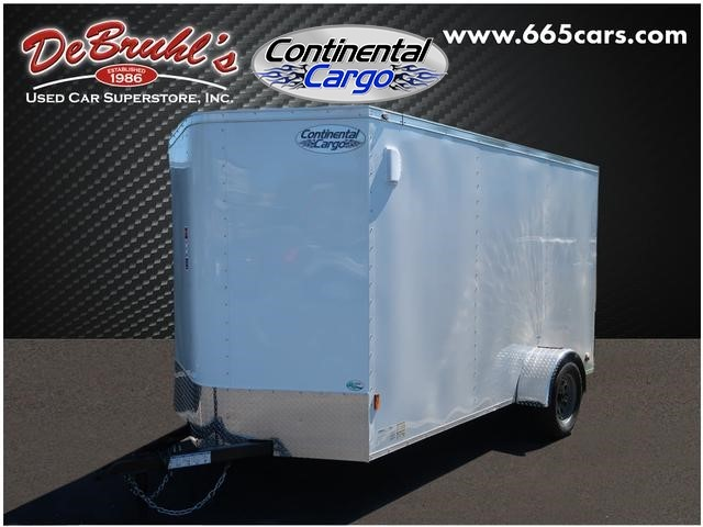 Picture of a used 2020 Continental Cargo 6X12 SA Cargo Trailer (New)