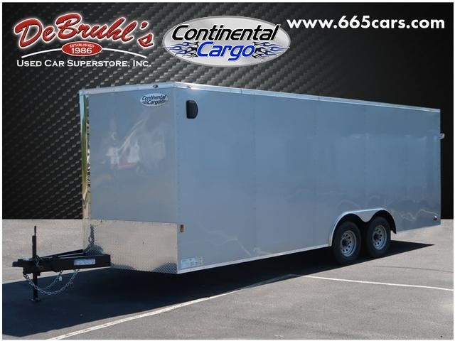 Picture of a used 2020 Continental Cargo 8.5X20 TA3 Cargo Trailer (New)
