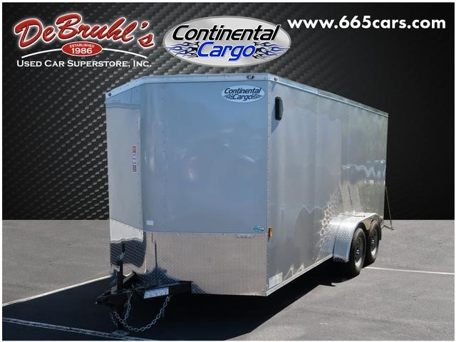 Picture of a used 2020 Continental Cargo 7X16 TA2 Cargo Trailer (New)