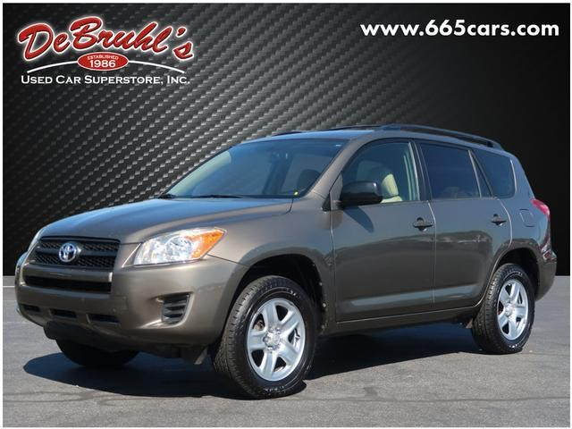 Picture of a used 2010 Toyota RAV4 Base