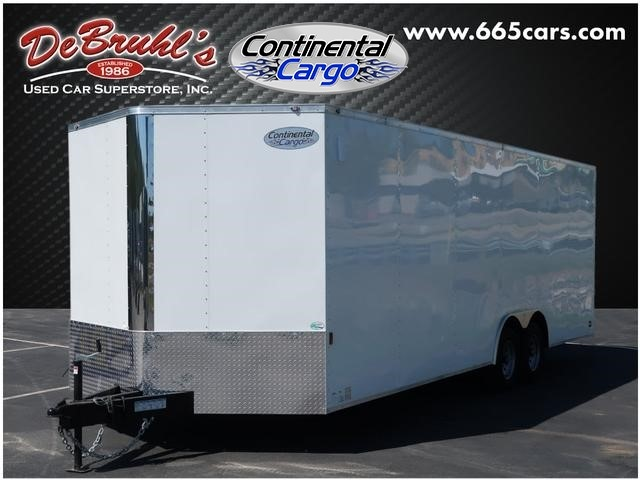 Picture of a used 2020 Continental Cargo 8.5X24 TA Cargo Trailer (New)
