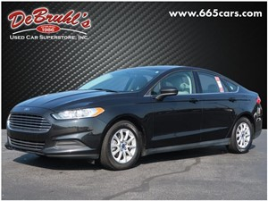 Picture of a 2015 Ford Fusion S