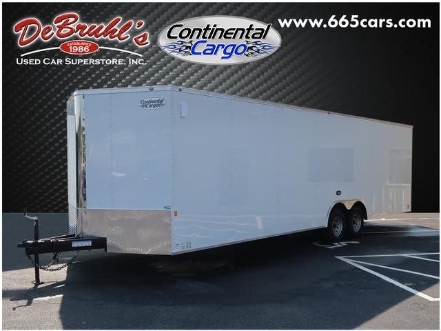 Picture of a used 2020 Continental Cargo 8.5X28 TA Cargo Trailer (New)