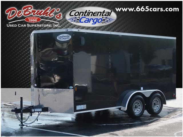 Picture of a used 2020 Continental Cargo 7X14 TA2 Cargo Trailer (New)