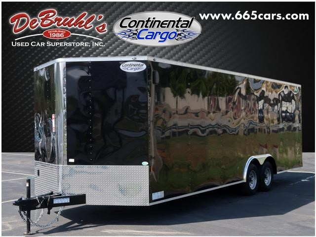 Picture of a used 2020 Continental Cargo 8.5X24 TA3 Cargo Trailer (New)