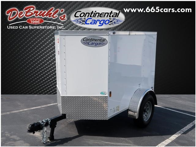 Picture of a used 2020 Continental Cargo 4X6 SA Cargo Trailer (New)