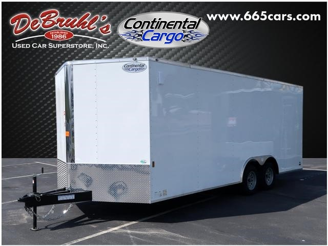 Picture of a used 2020 Continental Cargo 8.5X20 TA2 Cargo Trailer (New)