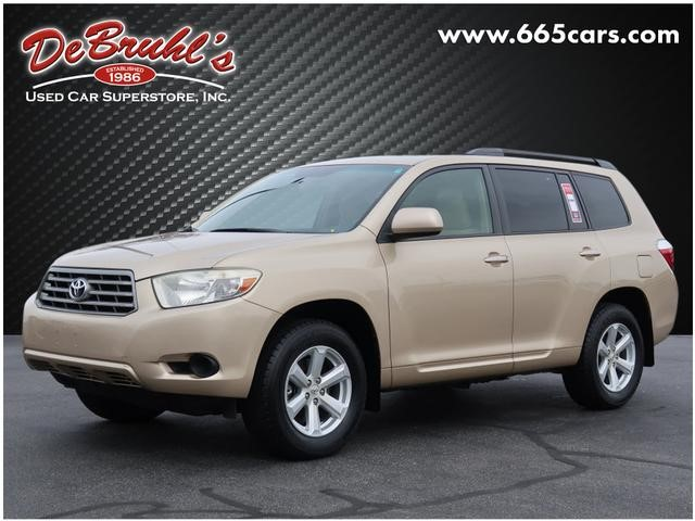 Picture of a used 2008 Toyota Highlander Base