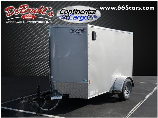 Picture of a used 2020 Continental Cargo 5X8 SA Cargo Trailer (New)