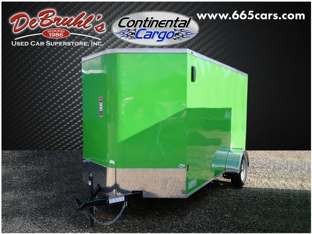 Picture of a used 2020 Continental Cargo 6x12sa Cargo Trailer (New)