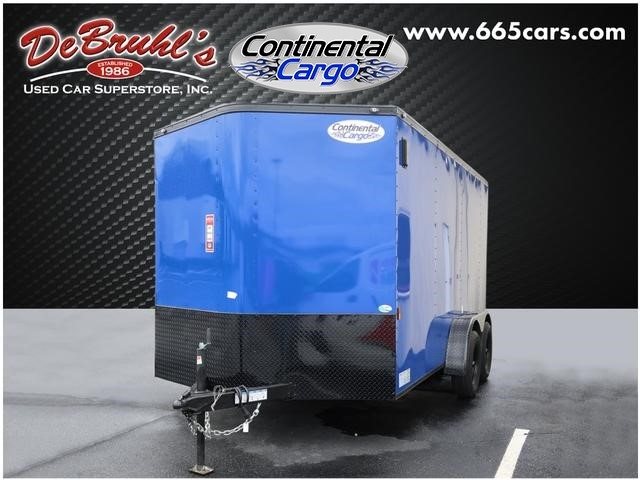 Picture of a used 2020 Continental Cargo CC7X14TA2 Cargo Trailer (New)