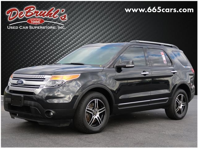 Picture of a used 2014 Ford Explorer XLT
