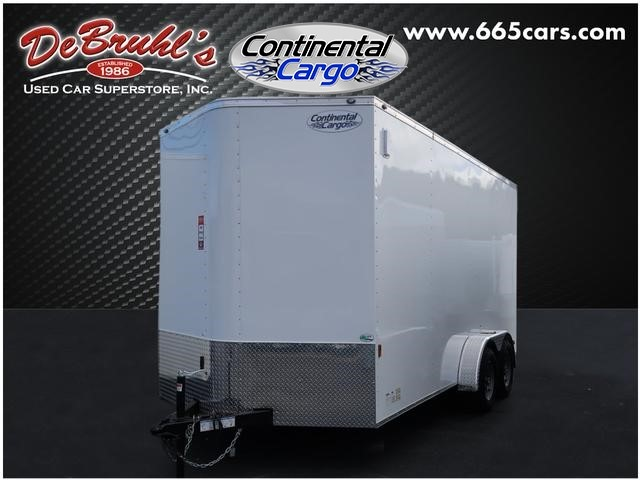Picture of a used 2020 Continental Cargo CC7x16TA2 Cargo Trailer (New)