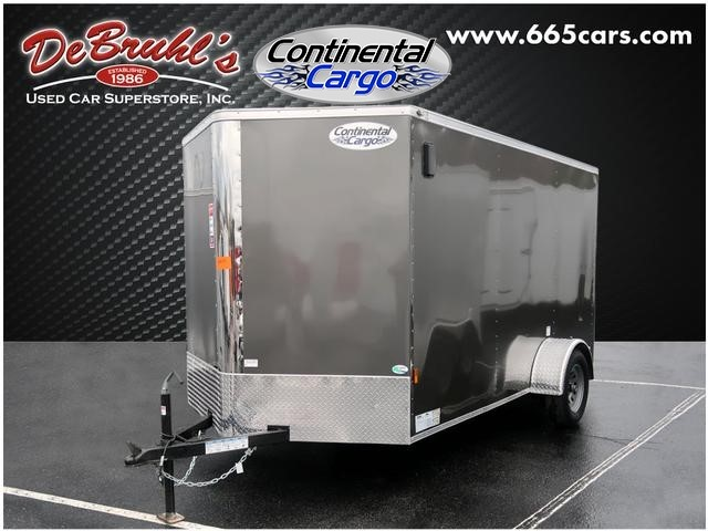 Picture of a used 2021 Continental Cargo CC6.5x12SA Cargo Trailer (New)