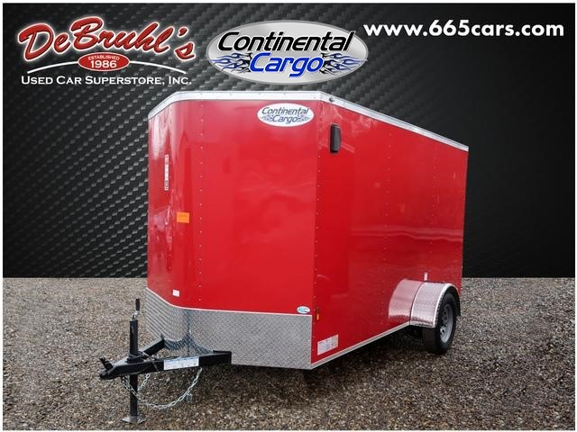 Picture of a used 2021 Continental Cargo CC6x12SA Cargo Trailer (New)