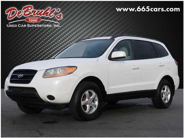 Picture of a used 2008 Hyundai Santa Fe GLS