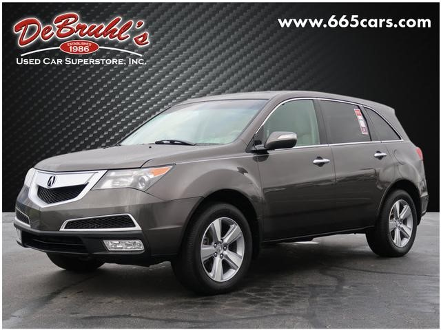 Picture of a used 2012 Acura MDX SH-AWD w/Tech