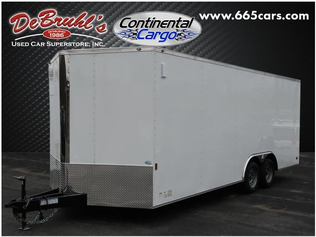 Picture of a used 2021 Continental Cargo Cc8.5x20ta2 Cargo Trailer (New)