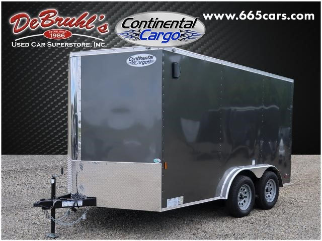 Picture of a used 2021 Continental Cargo Cc7.5x12ta2 Cargo Trailer (New)