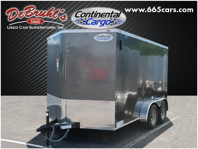 Picture of a used 2021 Continental Cargo CC712TA2 Cargo Trailer (New)