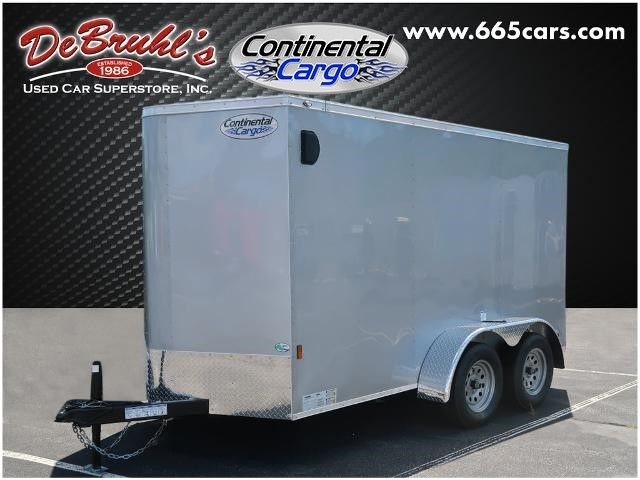 Picture of a used 2021 Continental Cargo CC612TA2 Cargo Trailer (New)