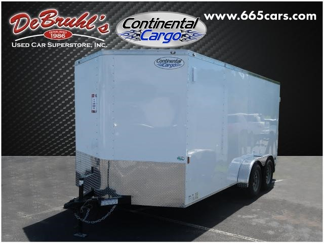 Picture of a used 2021 Continental Cargo CC716TA2 Cargo Trailer (New)
