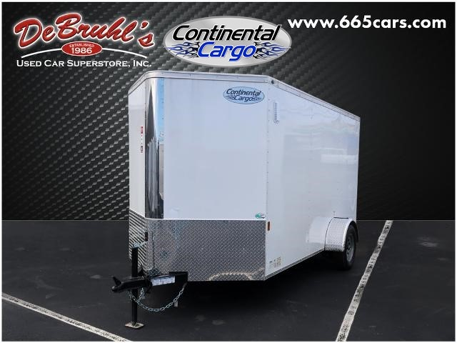Picture of a used 2021 Continental Cargo CC612SA Cargo Trailer (New)