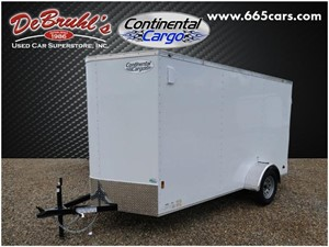 Picture of a 2021 Continental Cargo CC612SADD Cargo Trailer (New)