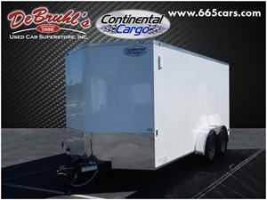 Picture of a 2021 Continental Cargo CC714TA2 Cargo Trailer (New)