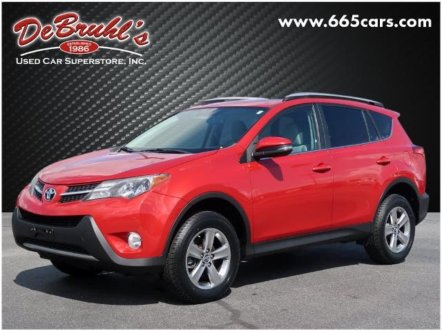 Picture of a used 2015 Toyota RAV4 XLE