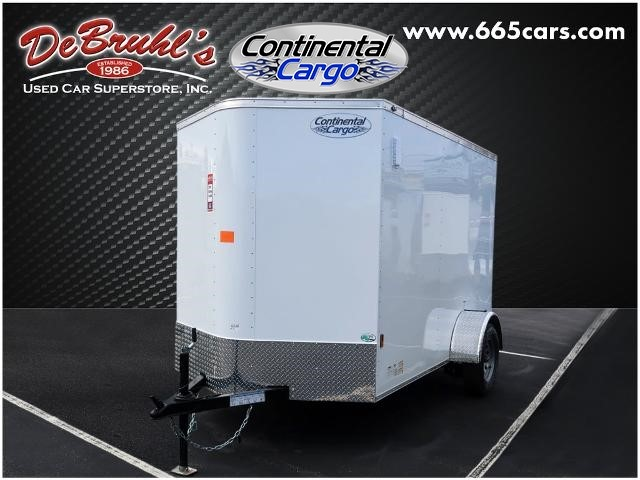 Picture of a used 2021 Continental Cargo CC610SA Cargo Trailer (New)