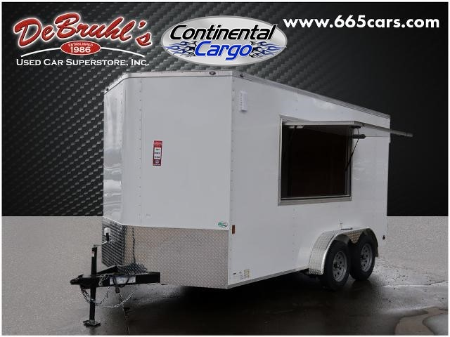 Picture of a used 2021 Continental Cargo 7x14ta2 Cargo Trailer (New)
